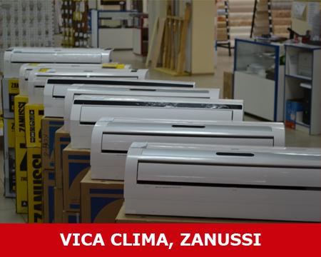 Кондиционеры (сплит-системы) VICA CLIMA и ZANUSSI